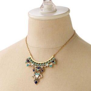 Stella & Dot Stone Tile Necklace